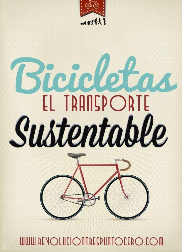 #Infografia Bicicletas el transporte #sustentable
