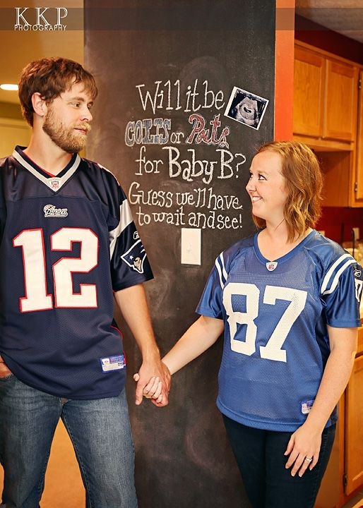 9 best sports pregnancy announcement images – Football Birth Announcements