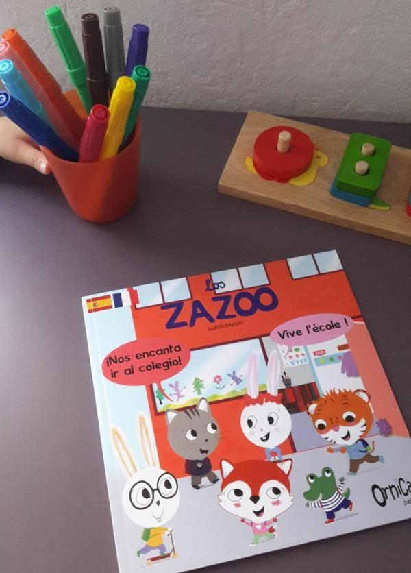Ma petite bilingue à l'école maternelle
