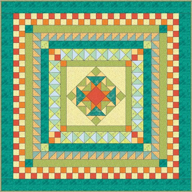 17 best images about quilts  medallion on