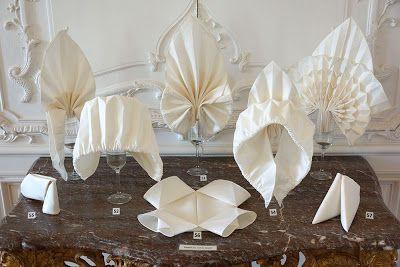 N e e d l e p r i n t: Joan Sallas & The Gentle Art Of Napkin Folding