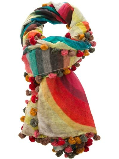 Faliero Sarti Scarf in Multicolor (multicoloured) - I love the look of this...but the cost of the items on this site are ridiculous!
