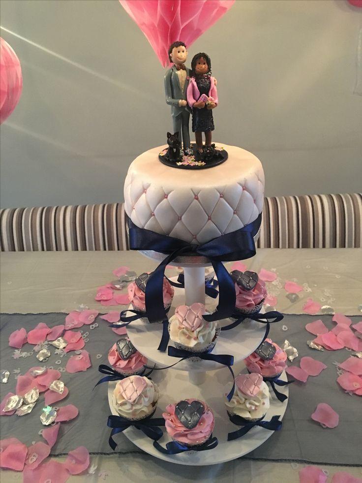 Weddingcake, trouwtaart.