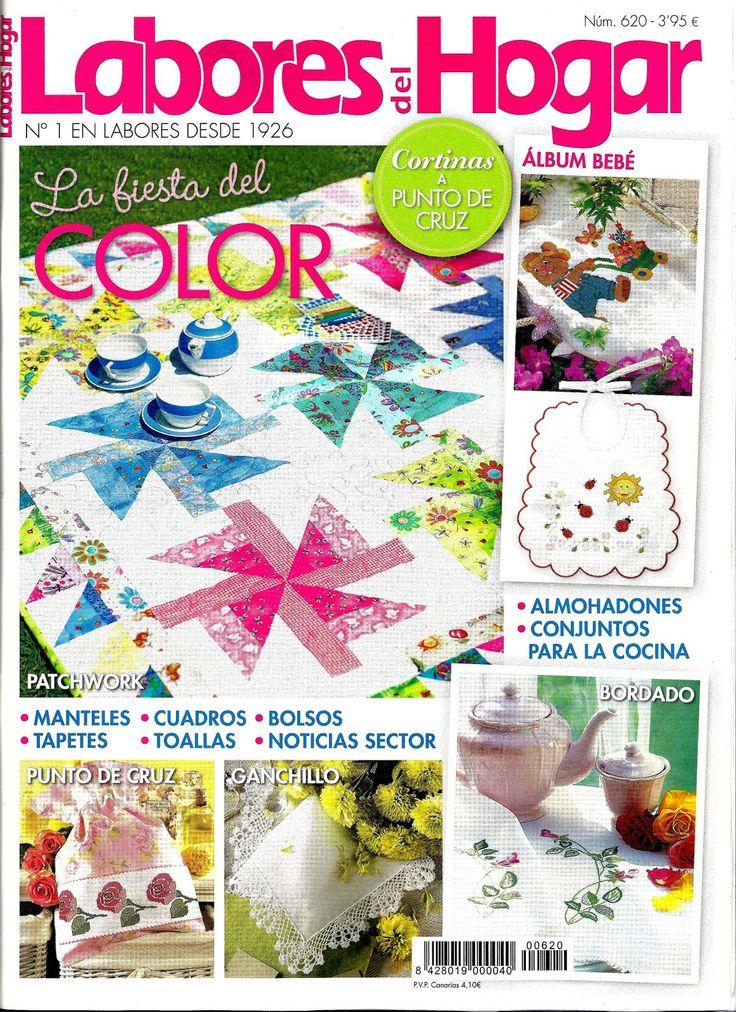Labores del hogar. http://www.rbarevistas.com/categoria/revista/femeninas/labores_del_hogar