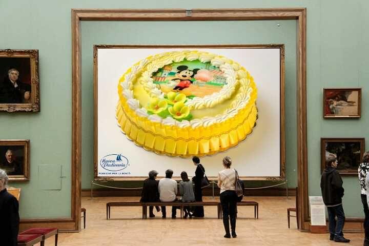 I nostri dolci personalizzati sono delle vere e proprie opere d'arte ;-)