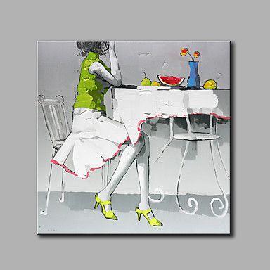 【今だけ☆送料無料】現代 アートなモダン キャンバスアート アートパネル 人物画1枚で1セット 女性 ミニスカート ハイヒール カフェ【納期】お取り寄せ2~3週間前後で発送予定