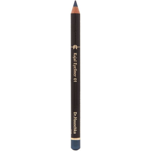 Dr. Hauschka Kajal Eyeliner 01 - Smokey Blue 1.15g (€18) ❤ liked on Polyvore featuring beauty products, makeup, eye makeup, eyeliner and dr hauschka eyeliner