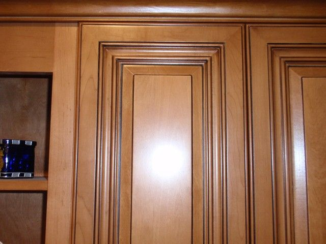 maple cabinets with a coffee glaze | Coffee Maple Glaze Kitchen Cabinets gallery image