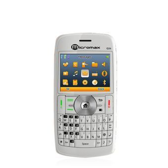Elegant and stylish, this Q36 GSM phone from Micromax is very appealing. With TFT (Thin Film Transistor) screen and 240 x 320 pixel screen resolution, this triple SIM ( two GSM and 1 CDMA) phone comes with Bluetooth connectivity. With an expandable memory of 8 GB, you can store your favorite music and files.