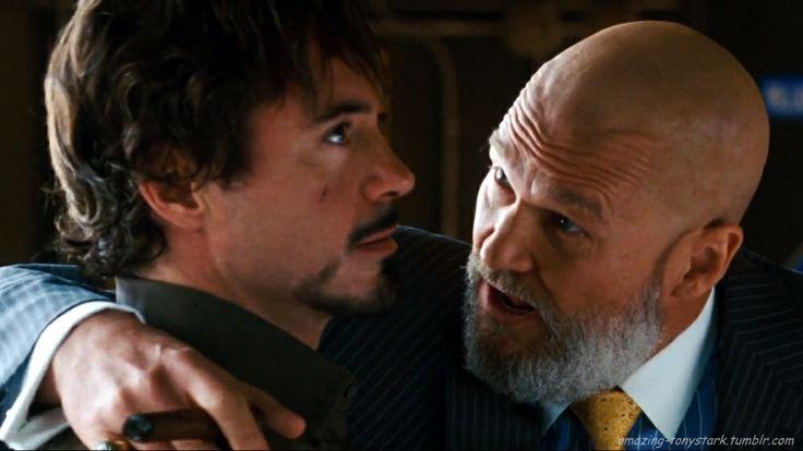 Tony Stark and Obadiah...