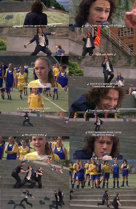 Favorite part of 10 Things I Hate About You which always makes me think of @Stephanie Gibson Tow!