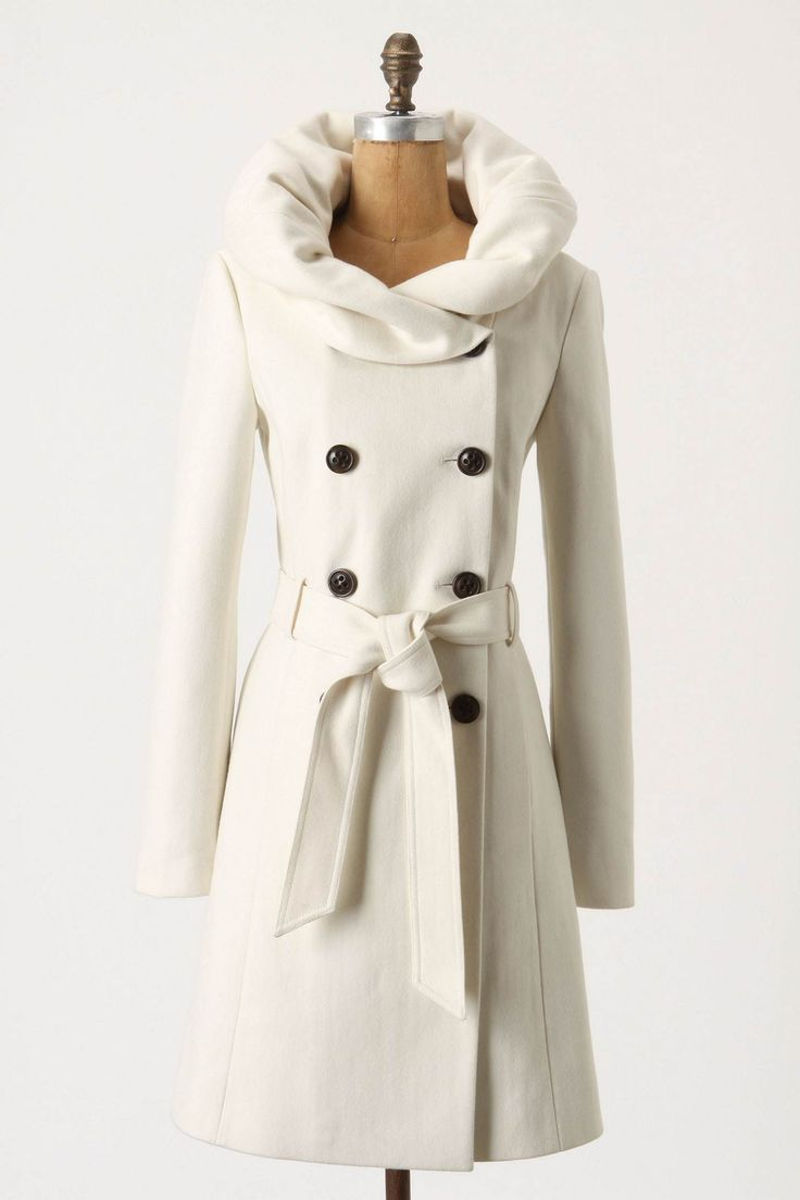 Runway Lapel Coat - this is a gorgeous remodel of the typical