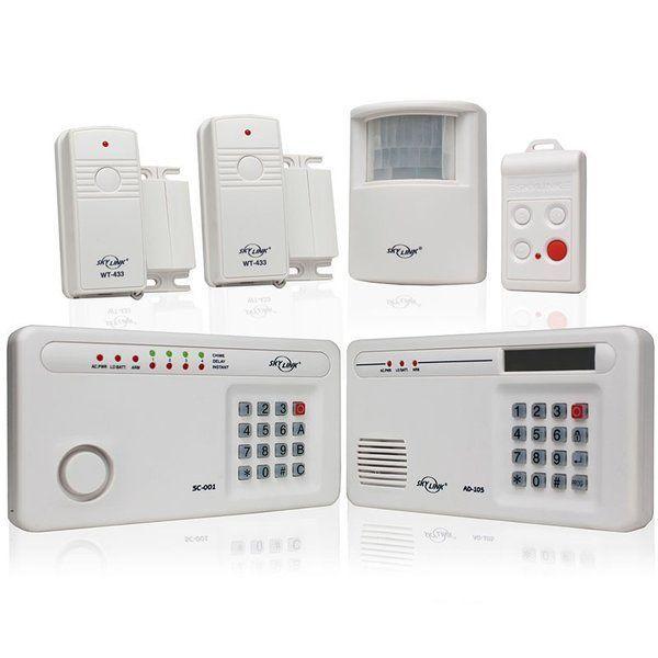 Skylink SC-1001 Total Protection Wireless Alarm System - Complete Kit #homesecuritysmartsystem