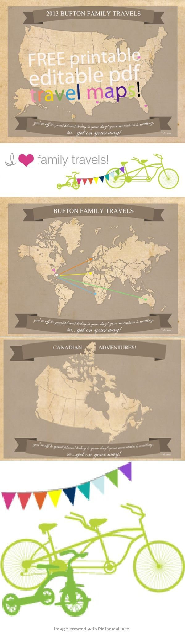 Free Printable Family Travel Maps About The Maps Printable On Us Letter Size Paper