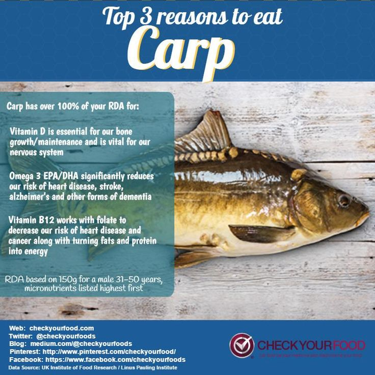 17 best images about fish and seafood on pinterest heart for Can you eat carp fish