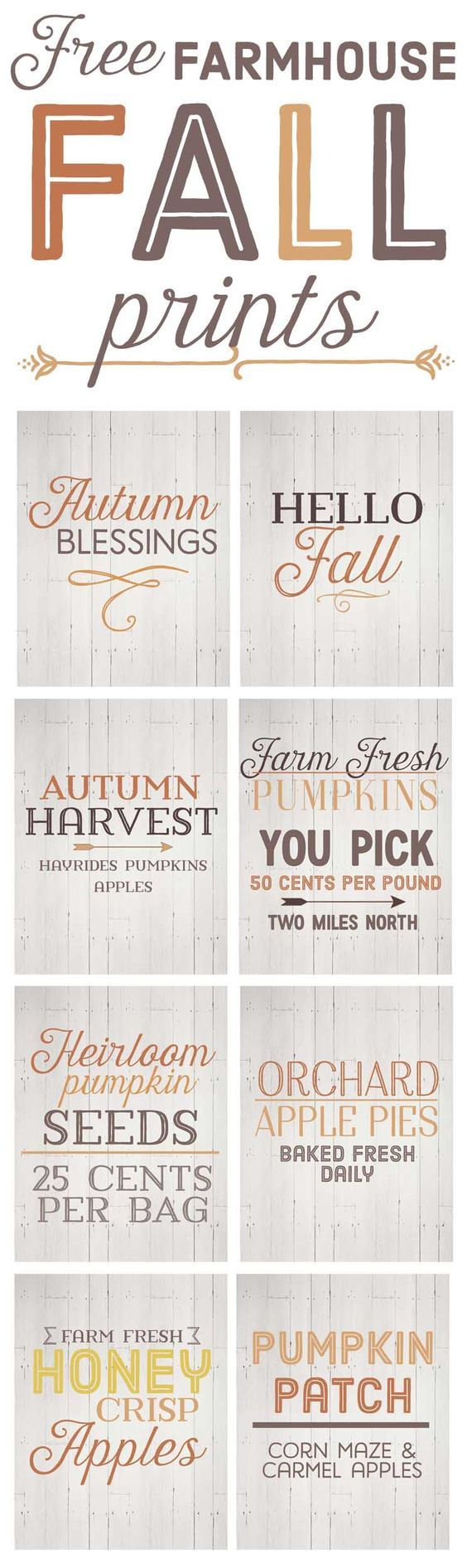 Free Fall Farmhouse Printables-fall farmhouse decor-fall home decor ideas-www.themountainviewcottage.net