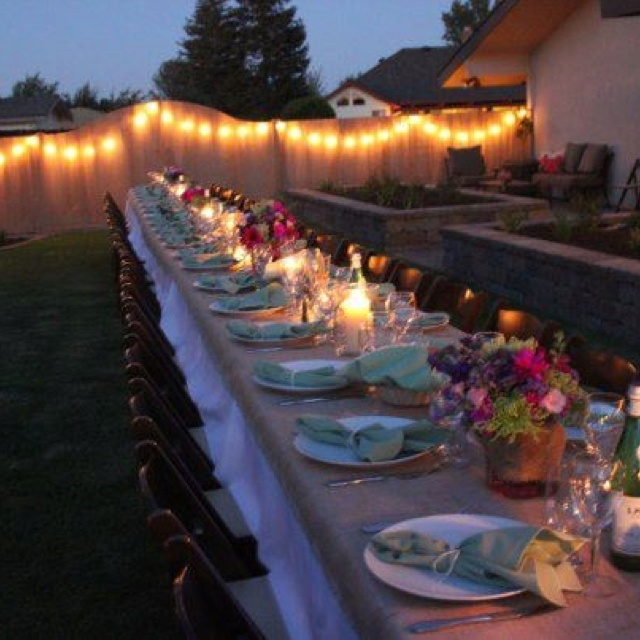Gorgeous Outdoor Dinner Parties 3