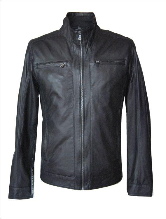 Ανδρικό δερμάτινο μπουφάν  Μοντέλο: Paco Δέρμα: soft nappa Τιμή: 330€