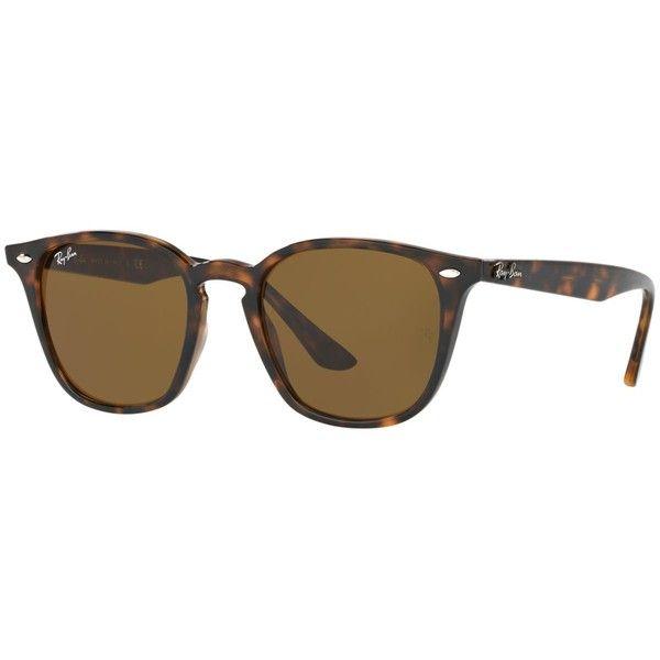 Ray-Ban Sunglasses, RB4259 51 ($140) ❤ liked on Polyvore featuring accessories, eyewear, sunglasses, ray ban sunglasses, ray ban glasses, ray ban sunnies and ray ban eyewear