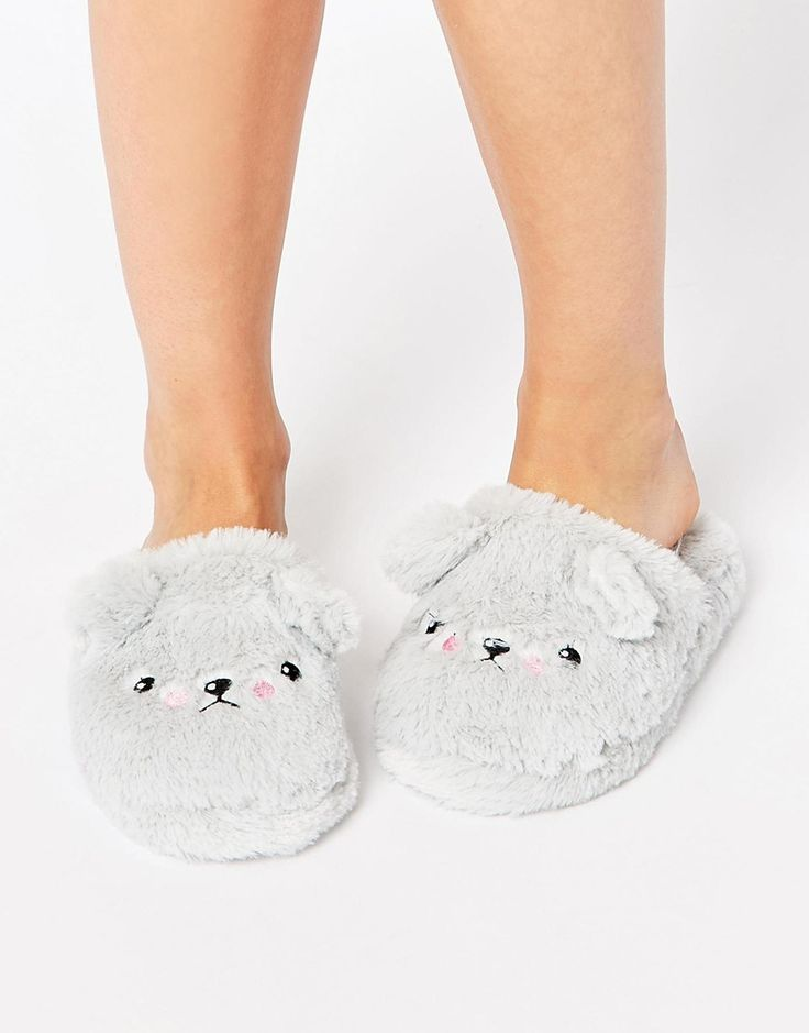 Grumpy Ted Slippers