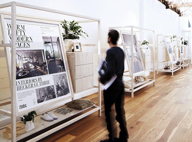 beautiful property display suite - GEORGE & ALLEN / By Hoyne Property