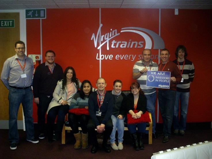 Virgin Trains invest in their people #iip2013