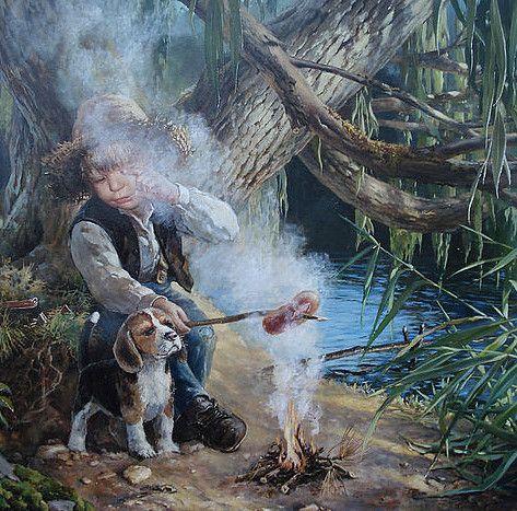 Картины Владислава Леоновича (20фото) » Картины, художники, фотографы на Nevsepic