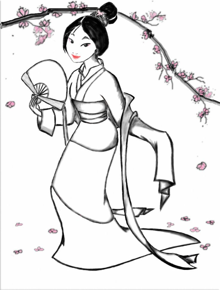 70 best images about Disney Mulan Coloring Pages on ...