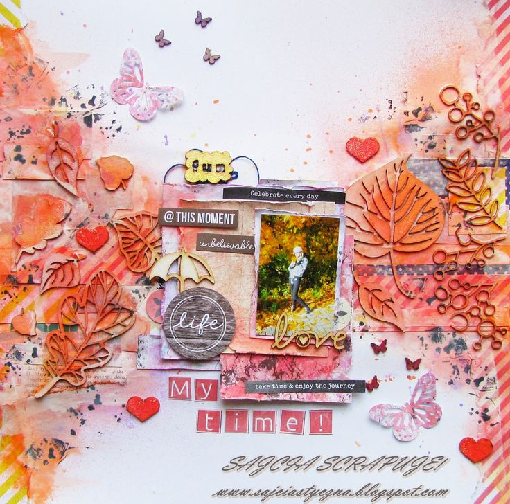 Autumn layout and something else / Jesienne LO i jeszcze co� :)