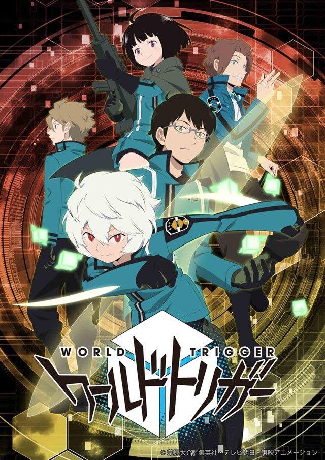 World Trigger Anime Celebrates Manga's Return with Newly