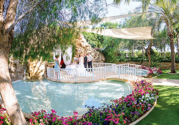 Olympic lagoon resort Ayia Napa wedding