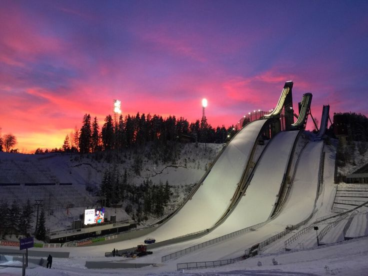 The Lahti Ski games
