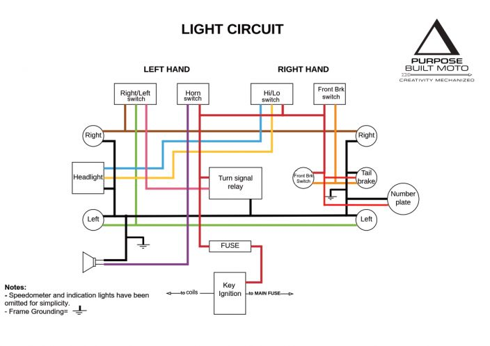 17 Universal Motorcycle Speedometer Wiring Diagram Motorcycle Diagram Wiringg Net Motorcycle Wiring Cafe Racer Electrical Diagram