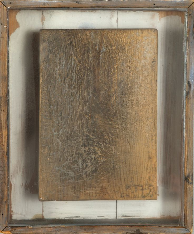 Kain Tapper: Puureliefi, 1975, 21x14,4 - Hagelstam K133