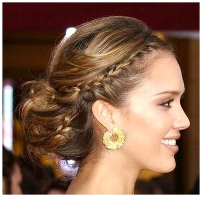 Pretty Hairstyles For A Wedding: Cute Hairstyle For Wedding Guest
