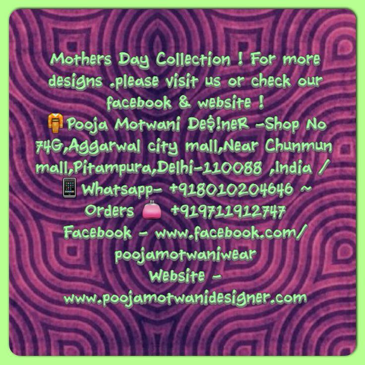 #onlineshop #shoppingonline #shopnow #mothersday #mothersdaycollection #ilovejewellery #stunningoutfits #anarkalis #indiansuits #indianoutfits #poojadesigns #poojamotwani #poojamotwaniwear #poojamotwanidesigner #poojamotwanijewellery #india #uk #usa #newyork #newjersey #dubai #uae #qatar #hongkong #punjabis #sindhis #singapore #pitampura #southdelhi #delhi #pinterest