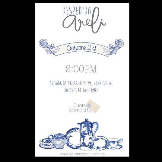 Seguimos creando... #invitación #despedida #bridalbrunch #wedding #soon #invitation #blue #secasa #envelope #cute #design #diseño #diseñografico