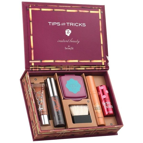Benefit Do The Hoola Kit ($45) ❤ liked on Polyvore featuring beauty products, gift sets & kits and makeup