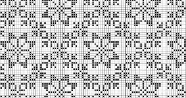 Fair Isle Knitting motif. Suitable for a twill, diversified plain weave, or double weave. Download a WIF file for a twill weave for $1.00