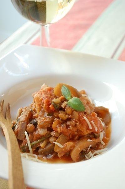 なすとツナとレンズ豆のトマト煮 by エリオットゆかりさん   レシピ ...