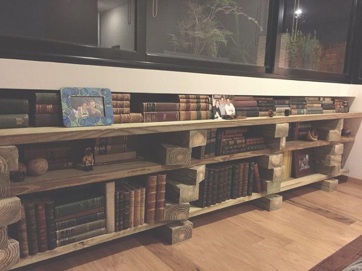 Book shelves DIY