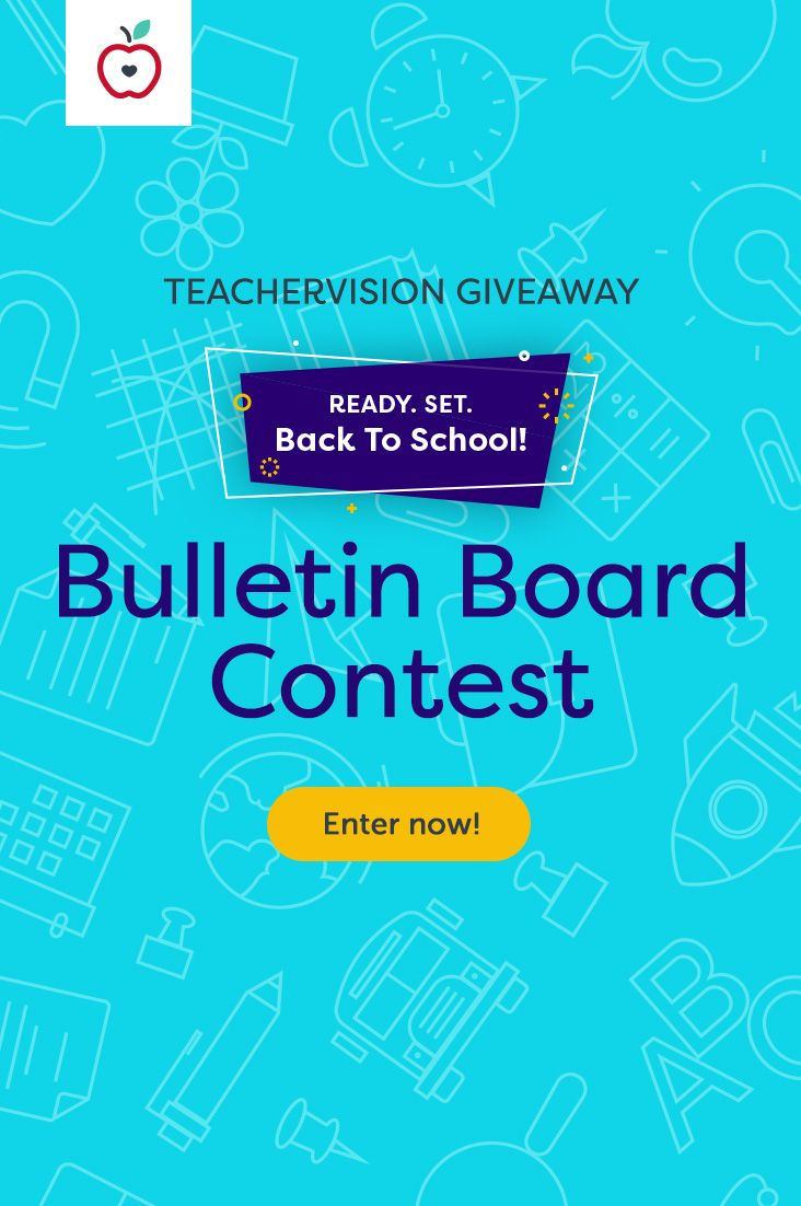 Show us your Back-to-School bulletin board for a chance to win $250! (Plus an equal donation to one of three education-focused charities.) Enter today!