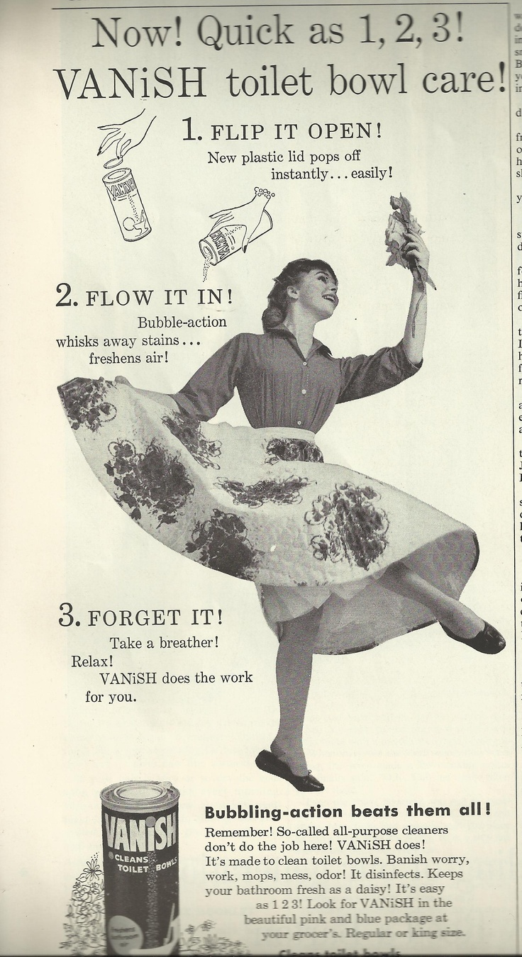 17 best images about vintage cleaning posters ads vanish toilet bowl cleaner ad clever product