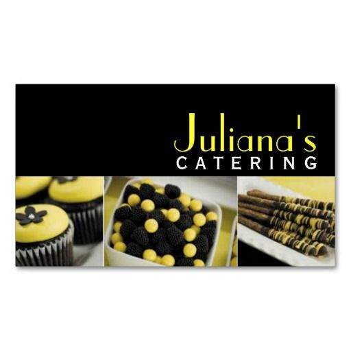 186 best Catering Business Cards images on Pinterest