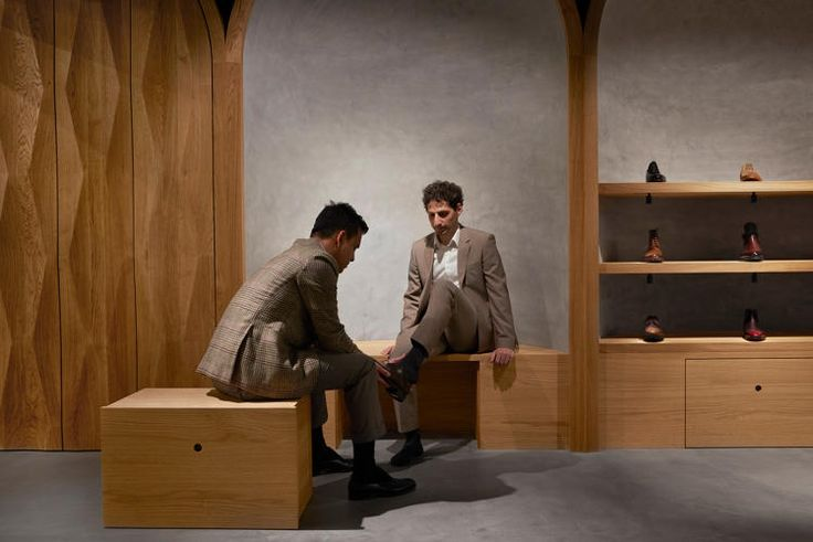 The global design firm Snhetta forges an intimate storefront and visual identity for a bespoke shoemaker.