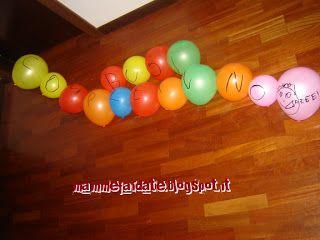mamme fai da te: Palloncini buon compleanno