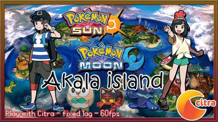 http://youtu.be/XDjHhOx1vRk Let's play Pokemon Sun & Moon on PC - #8 Akala Island