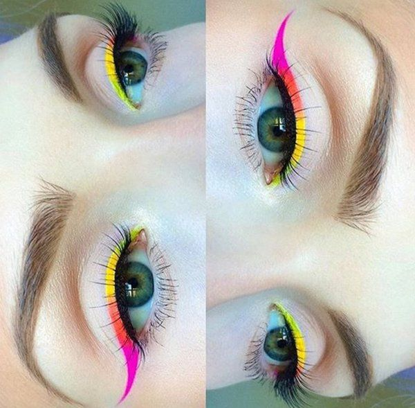 Colored eyeliner is the best!!