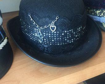 Hipster hat,BM,black funky hat
