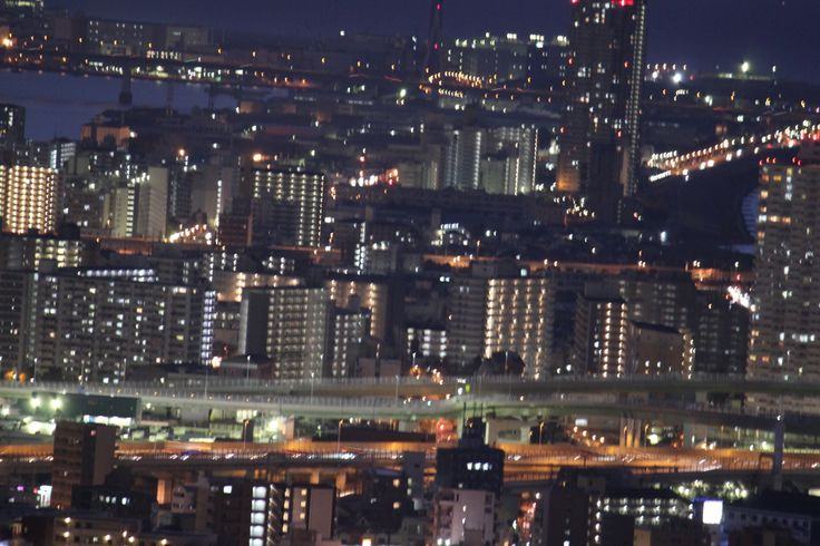 スカイビル(夜景)